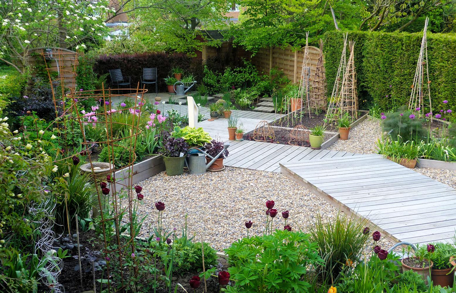 Garden Design Sheffield Suburban Garden 9